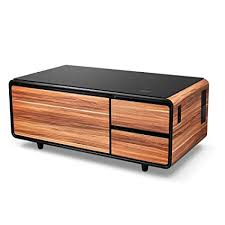 coffee table with refrigerator drawer