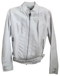 express off white jacket size 8 m