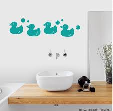 Rubber Duck Decals Ducky Wall Stickers Wallums