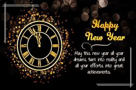 happy new year everyone all of your wishes and dreams come