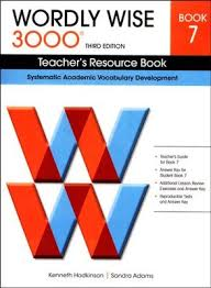 Wordly Wise 3000 Teacher's Resource Book 7, 3rd Edition: 9780838876206 -  Christianbook.com