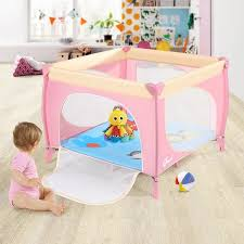 Shop Baby Playard Fence Play Pen For Toddler Boys Girls Indoor And Outdoor S Overstock 31930302
