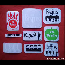 The Beatles Band Stickers Rockstickers23