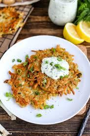vegan latkes potato pancakes i love