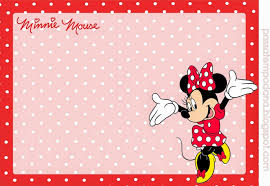 Minnie In Red And Polka Dots Free Printable Party Kit Minnie