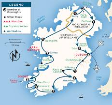 ireland itinerary where to go in