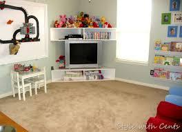 10 Easy Ways To Build Your Own Tv Stand Storage Kids Room Kids Playroom Kids Bedroom