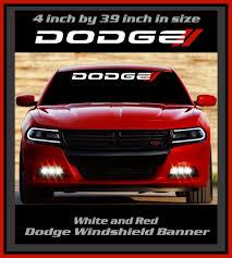 Dodge Mopar Ram Hemi Windshield Banners Decals Stickers