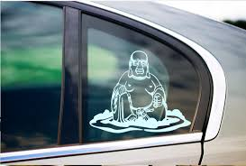 Buddha Hindu Sticker Peace And Love Decal Funny Sticker Car Window Decal Sticker Labtop Vinyl Art In Various Colors Vinyl Art Funny Stickers Peace And Love
