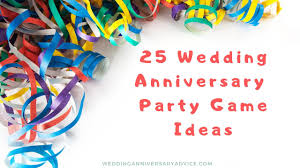 games for a wedding anniversary party