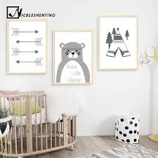 Wall Art Canvas Painting Posters Prints Nordic Style Children Bedroom Decoration