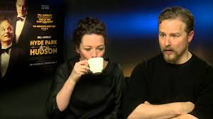 Olivia Colman and Samuel West Interview - Hyde Park on Hudson - YouTube