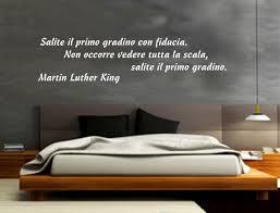 WALL STICKERS ADESIVI MURALI Martin Luther King Aforismi Frasi Famose  Parete
