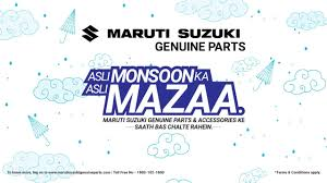 maruti suzuki genuine parts
