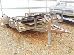 homemade trailer at copart