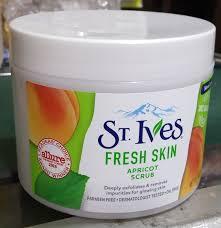 st ives fresh skin apricot scrub