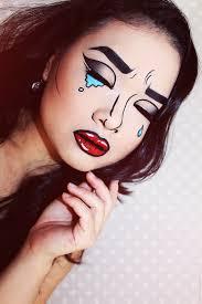pop art makeup lien jae