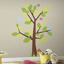 Amazon Com Roommates Kids Tree Peel And Stick Giant Wall Decal Home Improvement