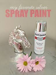 the best chrome silver spray paint to