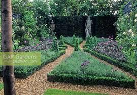 gap gardens formal herb garden