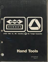 Utica Pliers The Tool Archives Manualzz