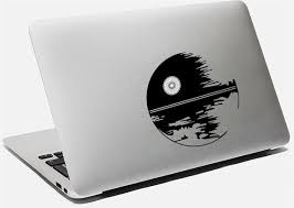Macbook Decal Macbook Vinyl Decal Macbook Star Wars Sticker Etsy