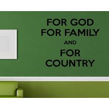 Shop Family God Country Quote Wall Art Sticker Decal Overstock 11640495
