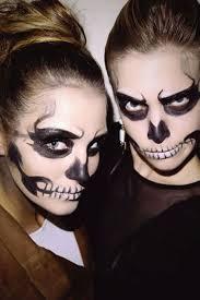 skeleton makeup tutorial halloween