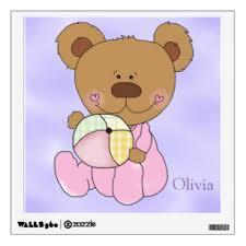 Bear Nursery Wall Decals Stickers Zazzle