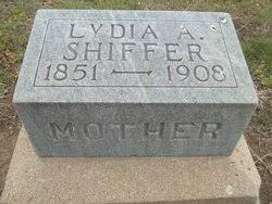 Lydia Angeline Smith Shiffer (1851-1908) - Find A Grave Memorial