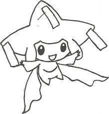 Free Jirachi Pokemon Coloring Page Download Free Clip Art Free