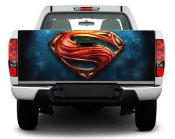 Product Logo Superman Tailgate Decal Sticker Wrap Pick Up Truck Suv Car