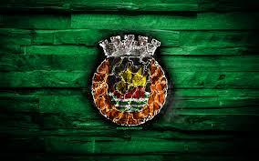 Scarica sfondi Il Rio Ave FC, masterizzazione logo, Primeira Liga, verde,  di legno, sfondo, portoghese football club, grunge, calcio, calcio Rio Ave  logo, Vila do Conde, Portogallo monitor con risoluzione 2880x1800. Immagini