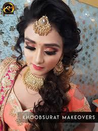 reception makeup artist in delhi best