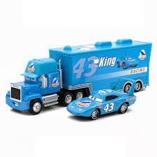 toys 2pcs lightning mcqueen mack truck
