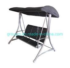 china garden metal frame swing chair