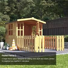 Billyoh Bunny Playhouse Wooden Playhouses Garden Buildings Direct