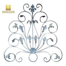 China Ornamental Wrought Iron Fence Components Manufacturer Factory Suppliers And Manufacturers Dinggin