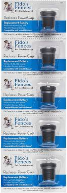 Amazon Com Invisible Fence Compatible R21 R51 Microlite Battery 5 Pack Replaces Power Cap Fits R21 R22 R51 And Microlite Collars Fido S Fences Pet Care Products Pet Supplies
