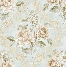 کاغذ دیواری گل دار آمریکایی اتاق خواب و پذیرایی کد ۵۱۱۰۲ آلبوم دورچستر