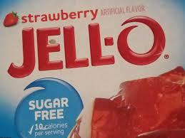 low calorie strawberry gelatin dessert