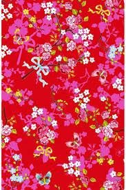 chinese rose wallpaper red pip studio