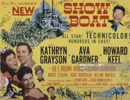 Show Boat, poster, Kathryn Grayson, Howard Keel, Ava Gardner, Joe E....  News Photo - Getty Images