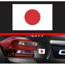 Japanese Flag Vinyl Decal Bumper Sticker Japan Rising Sun Jdm Shopee Malaysia