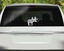 Adventure Moose Decal Moose Car Decal Adventure Alaska Sticker Hand Lettered Sticker Bumper Sticke Funny Car Decals Car Decals Vinyl Bumper Stickers
