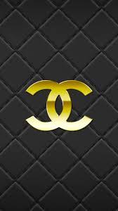 chanel logo iphone wallpaper
