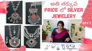 my silver jewellery collections ep 1