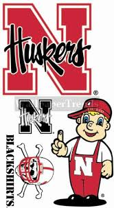 Un University Of Nebraska Huskers Wall Decals Removable Wall Stickers Free Shipping Available