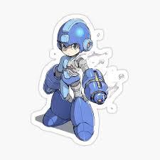 Megaman Stickers Redbubble