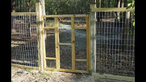 Build A Garden Gate For Less Than 10 Youtube